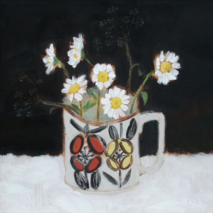 Coffee Cup Flowers