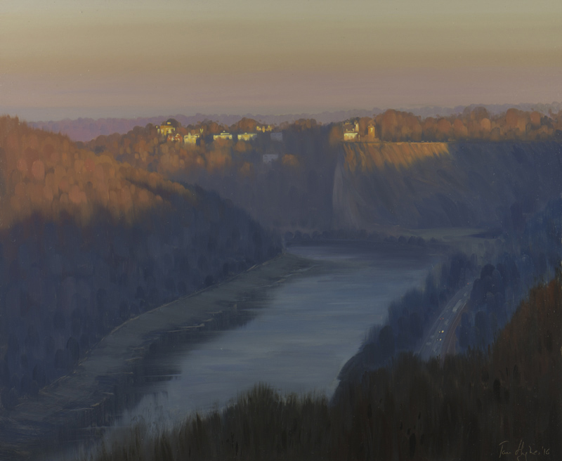 Dawn in the Gorge, January
