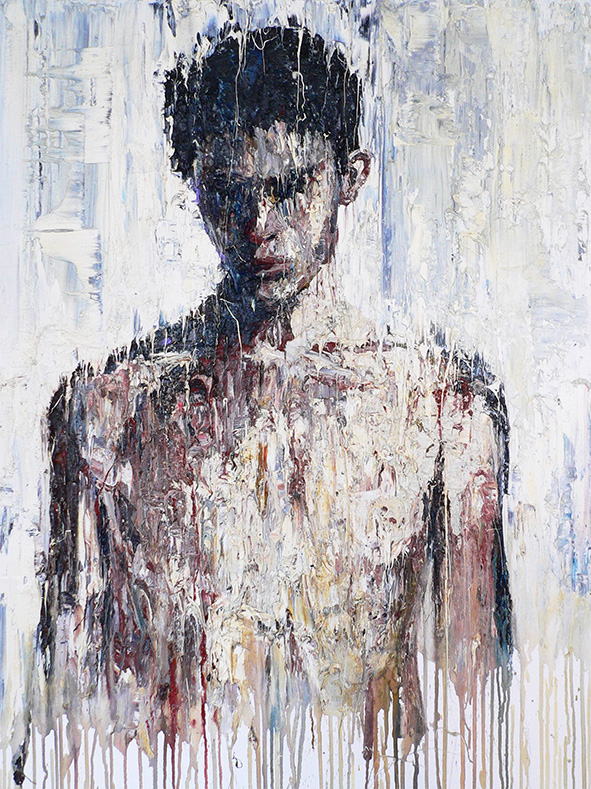 Agoston by Carl Melegari oil on canvas