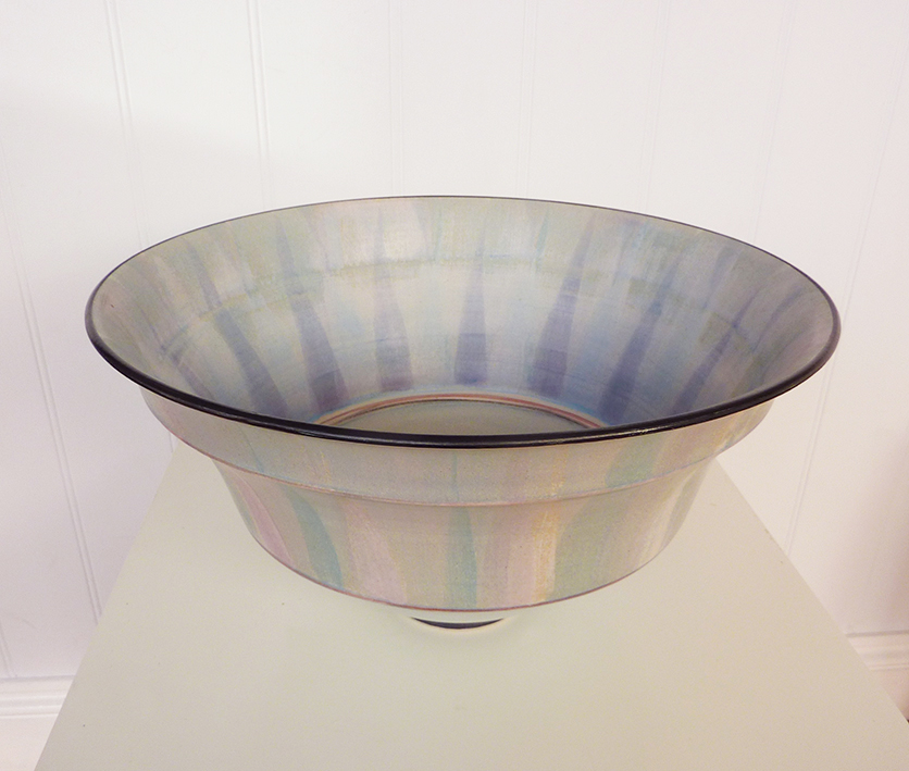 Large stoneware bowl by Christine Feiler