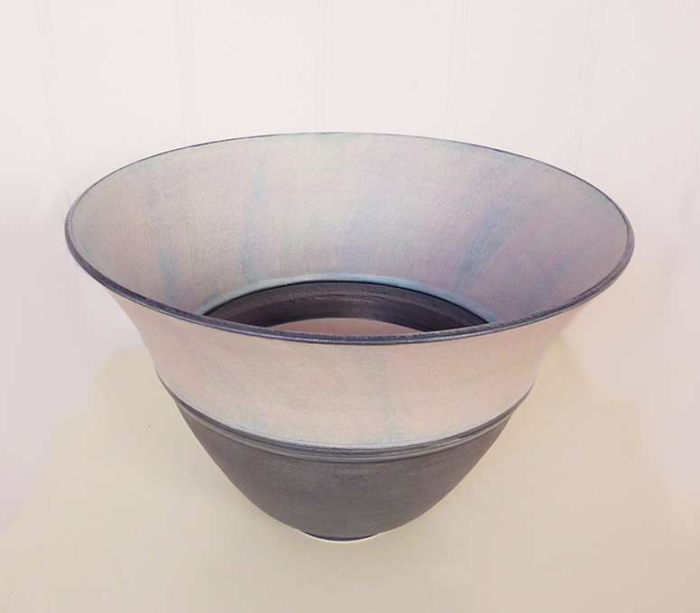 Tall Stoneware Bowl