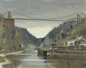 Avon Gorge, overcast with Birds, April