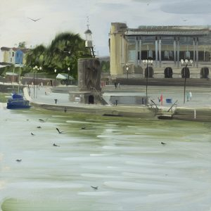 Floating Harbour with Birds, August