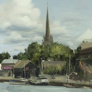St Mary Redcliffe and Floating Harbour1