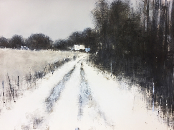 Farm Track in Winter
