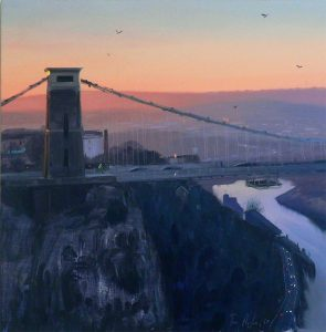 Clifton Suspension Bridge at Dawn