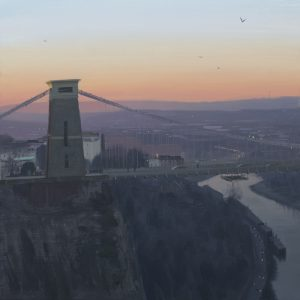 Clifton-Suspension-Bridge-Dawn-with-birds