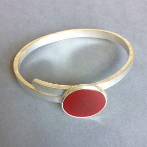 carnelian and silver