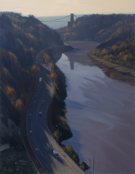 Avon Gorge, at Dawn, November