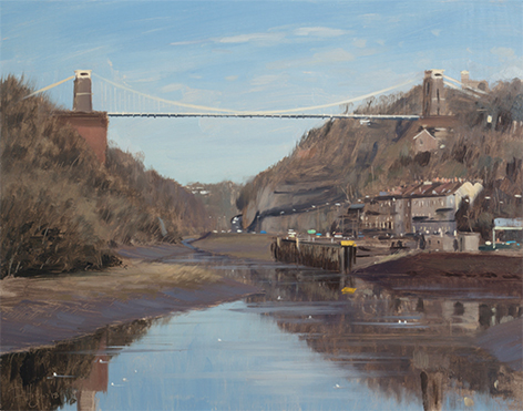 Still Water, Avon Gorge, January