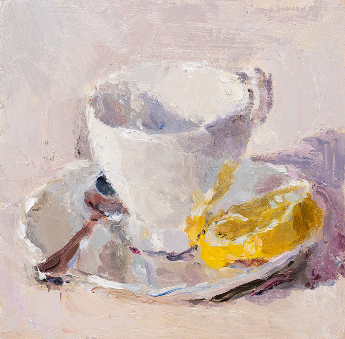 Teacup, Lemon and Spoon II