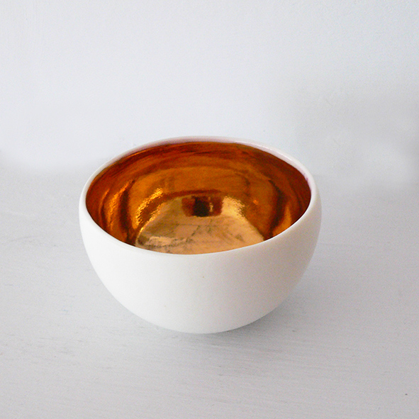 Small Gold Bowl