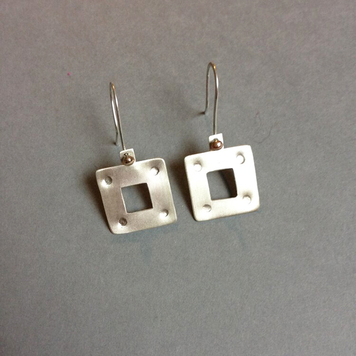 Silver, 9ct Gold